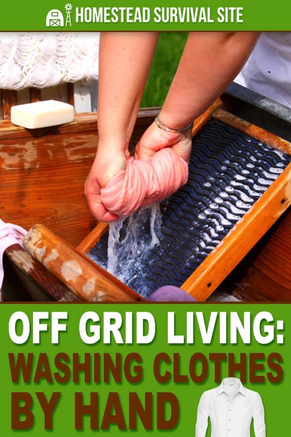Off Grid Living: Washing Clothes by Hand