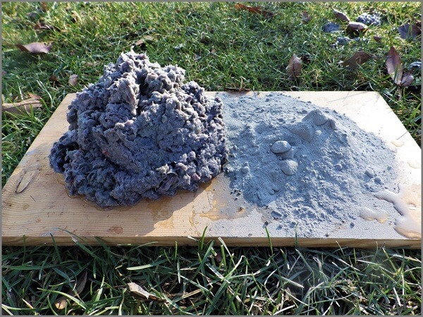 Paper Pulp and Cement