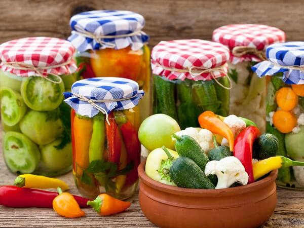 Preserved Vegetables