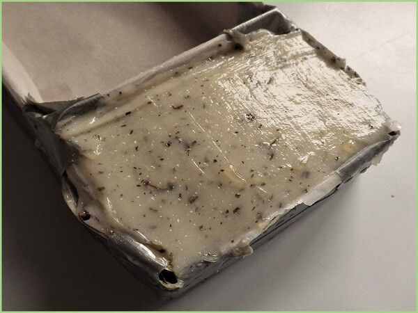 Raw Soap in Mold