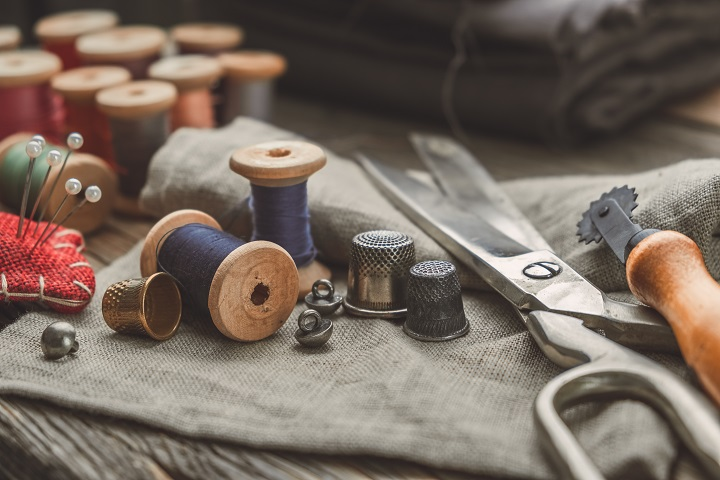 Sewing Supplies and Scissors