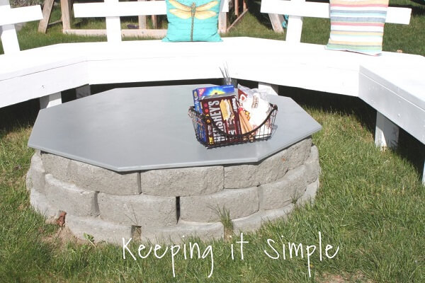 Simple Circular Fire Pit