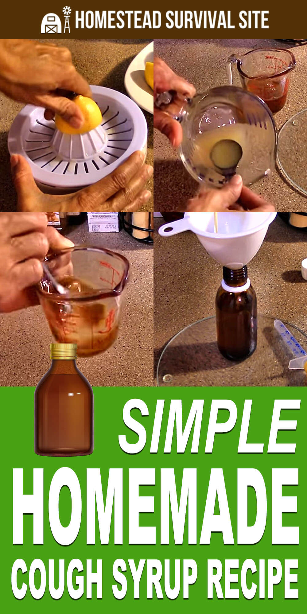 Simple Homemade Cough Syrup Recipe
