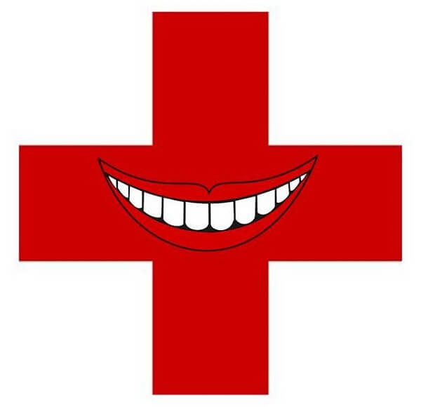 Smiling Red Cross