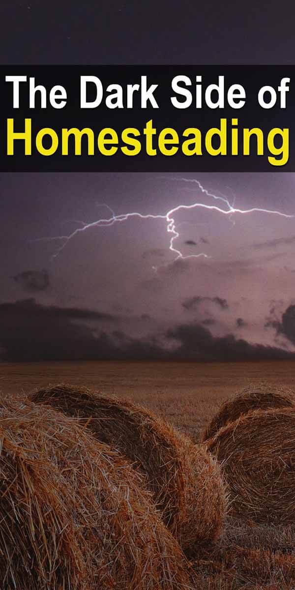 The Dark Side Of Homesteading