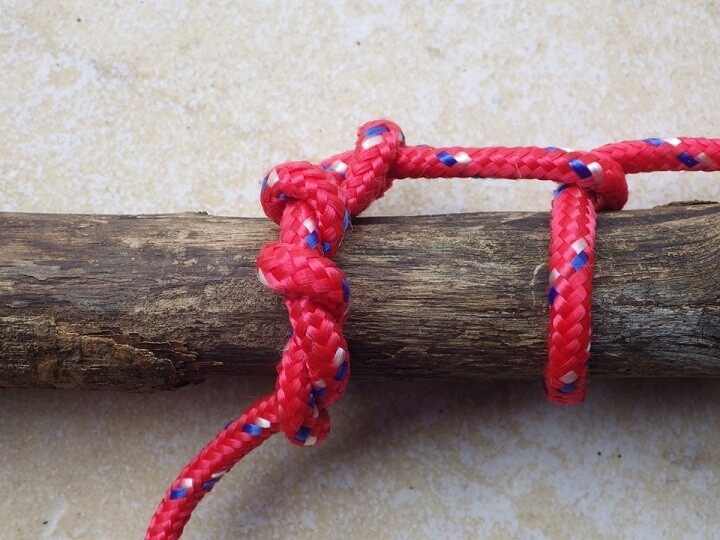 Timber Hitch Step One
