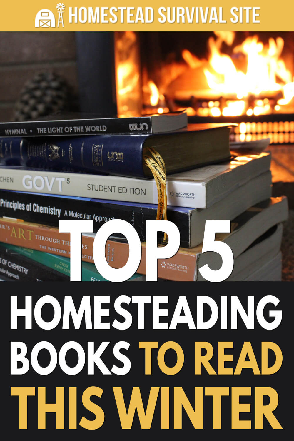 Top 5 Homesteading Books to Read This Winter