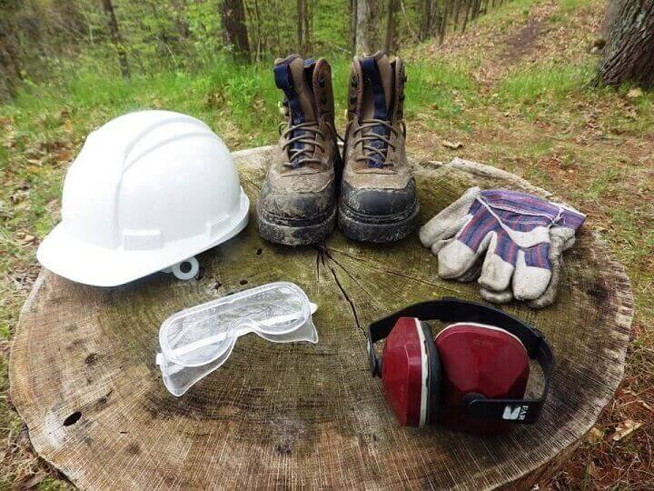Tree Cutting Safety Equipment