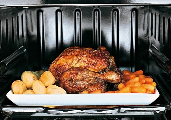 Turkey in a Wood Stove