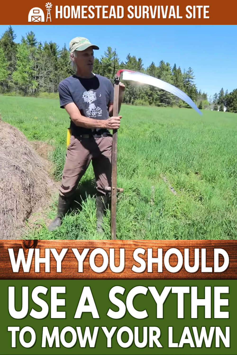 Why You Should Use a Scythe to Mow Your Lawn