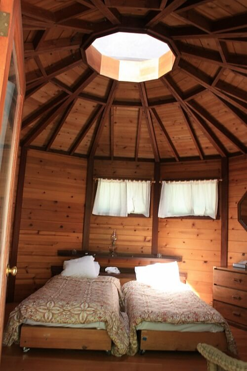 Yurt Twin Beds